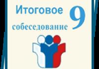 Итоговое собеседование по русскому языку